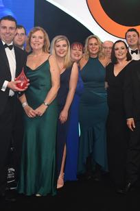 HFMA Awards 2019 – finance team
