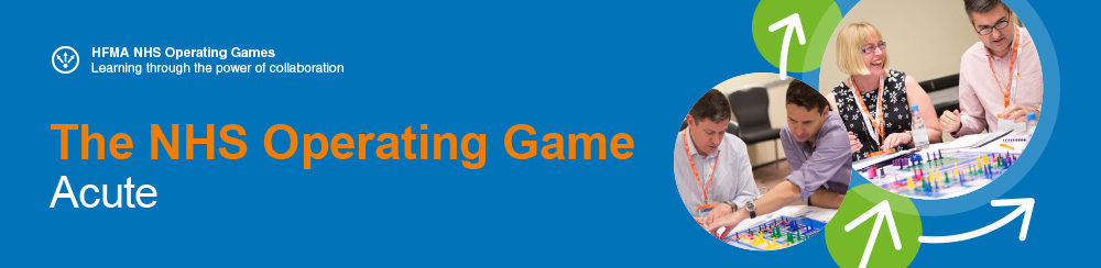 NHS Operating Game - Acute banner