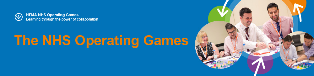 NHS Operating Games banner