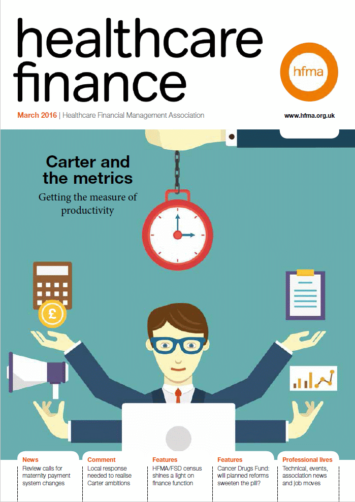 Healthcare Finance March 2016