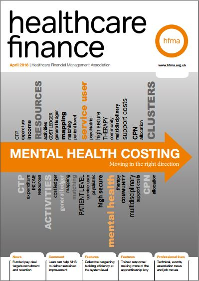 Healthcare Finance April 2018