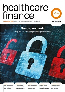 Healthcare Finance September 2016
