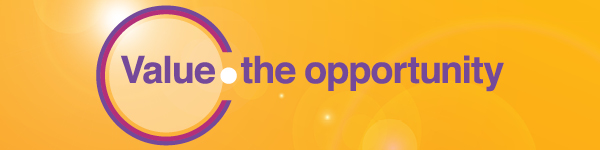 Value the opportunity - web banner