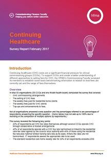 Continuing Healthcare Survey Report