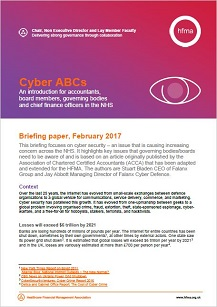 Cyber ABCs  An introduction for accountants, board members and chief finance officers in the NHS