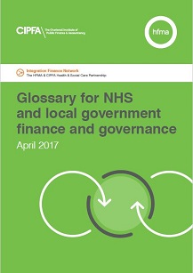 Glossary for NHS and local government finance and governance