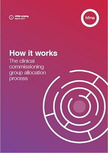 How it works: The clinical commissioning group allocation process