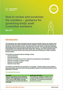 How to review and scrutinise the numbers