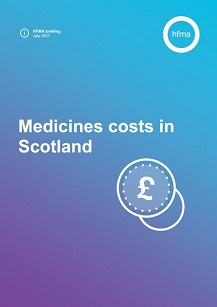 Medicines costs in Scotland