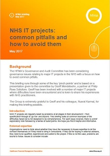 NHS IT projects: common pitfalls and how to avoid them