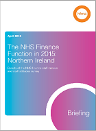The NHS finance function in 2015: Northern Ireland