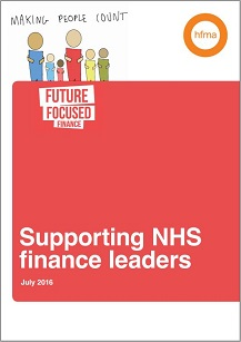 Supporting NHS finance leaders