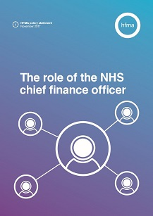 The Role of the NHS Chief Finance Officer