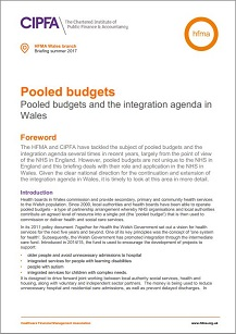 Pooled budgets: pooled budgets and the integration agenda in Wales