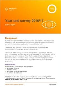 2016/17 year-end survey