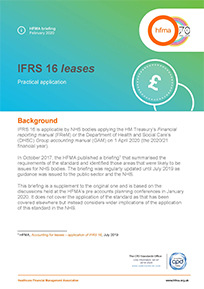 IFRS 16 leases: practical application