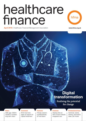 Healthcare finance April 2019