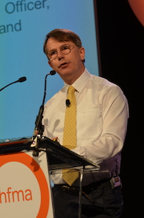 Baumann asks four questions of finance leaders (HFMA 2016)