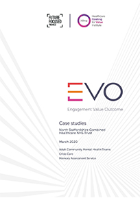 EVO Case studies North Staffordshire Combined Healthcare NHS Trust