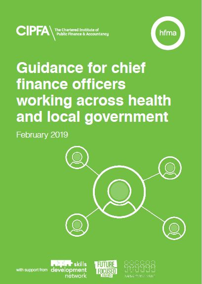 Guidance for chief financial officers working across health and local government