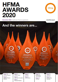 HFMA awards supplement 2020 247X349.5