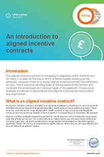 An introduction to aligned incentive contracts