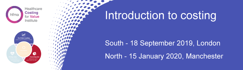 Introduction to costing regional event (North) 2020