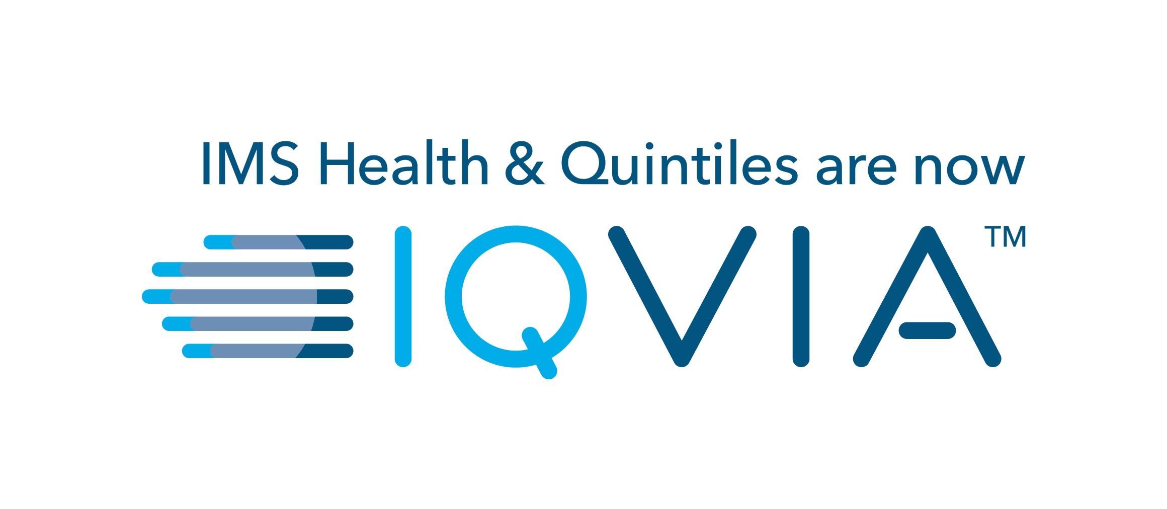 IQVIA Horizontal Logo - Color (Transition Line)