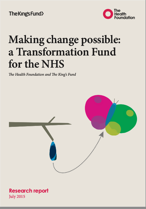 Think-tanks call for NHS transformation fund