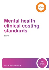 Mental health clinical costing standards 2016/17