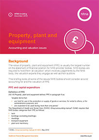 Property, plant and equipment: accounting and valuation issues