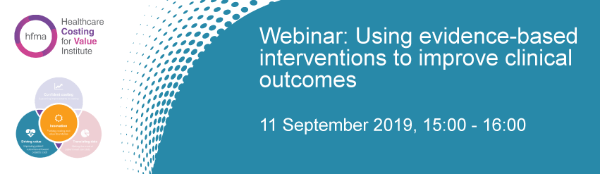 Using evidence-based interventions to improve clinical outcomes