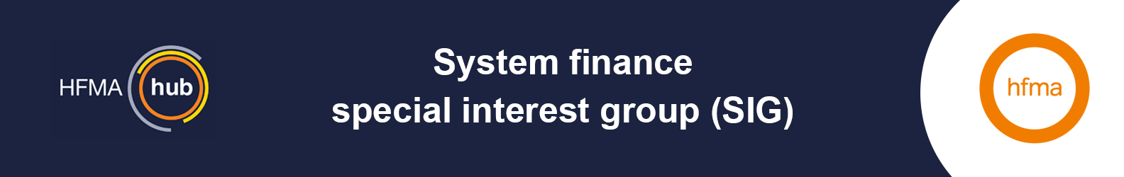 System finance special interest group (SIG) (WS)