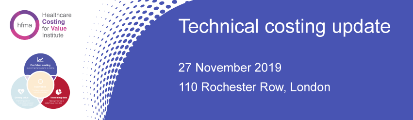 Technical Costing Update 2019