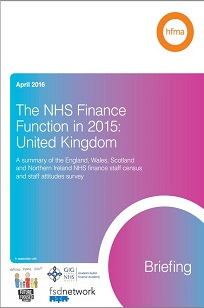 The NHS Finance function in 2015 - UK