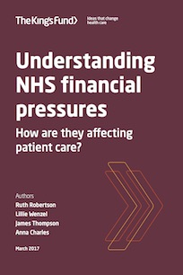 Financial pressures affecting care