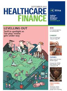 Healthcare Finance September 2012