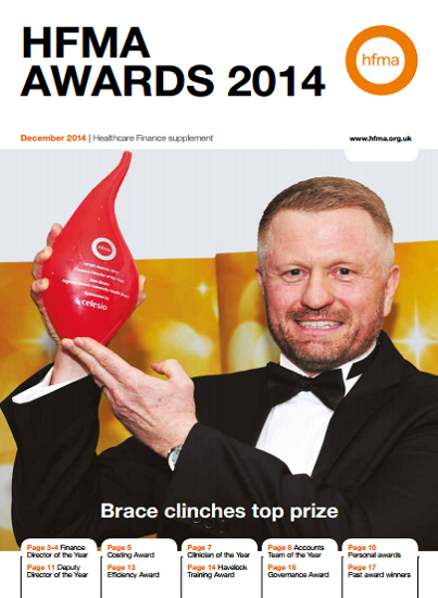 HFMA Awards supplement 2014