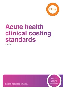 Acute health clinical costing standards 2016/17