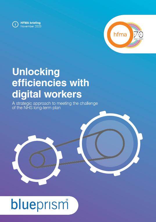 Unlocking efficiencies with digital workers